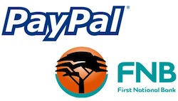 Paypal Za launches in South Africa via FNB