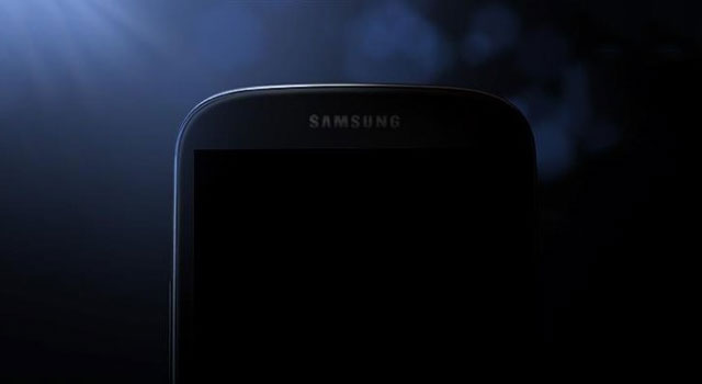 The teaser image of the Galaxy S4 that Samsung released on Monday