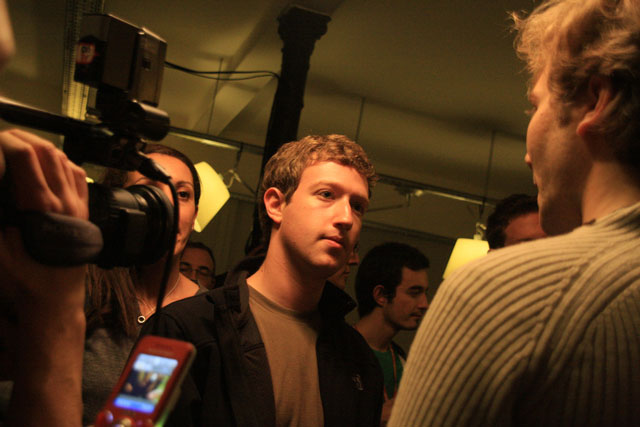 Twenty-nine year-old billionaire Mark Zuckerberg of Facebook - image Ludovic Toinel