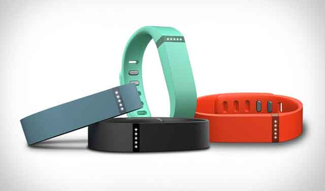 The Fitbit Flex health tracker