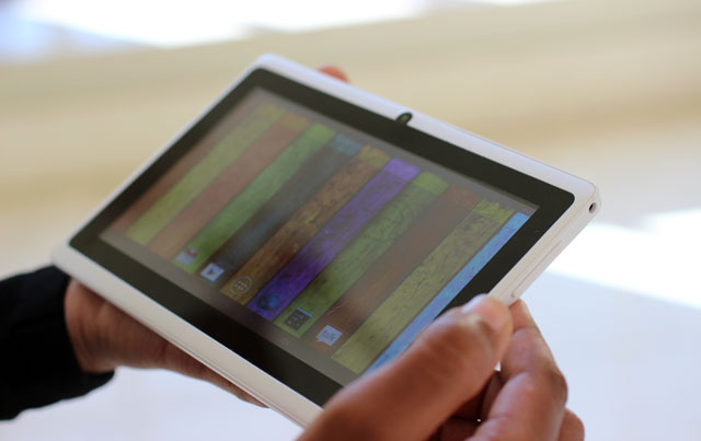 The Millbug Vuya tablet