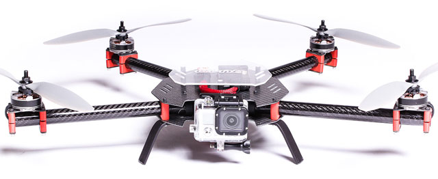 SteadiDrone QU4D quadcopter