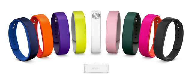 Sony's SmartBand activity tracker