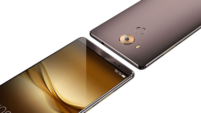 Huawei's flagship smartphone, the Mate 8