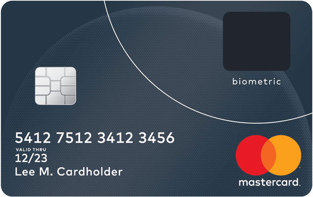 MasterCard Reveals Credit Card With Built-In Fingerprint Sensor